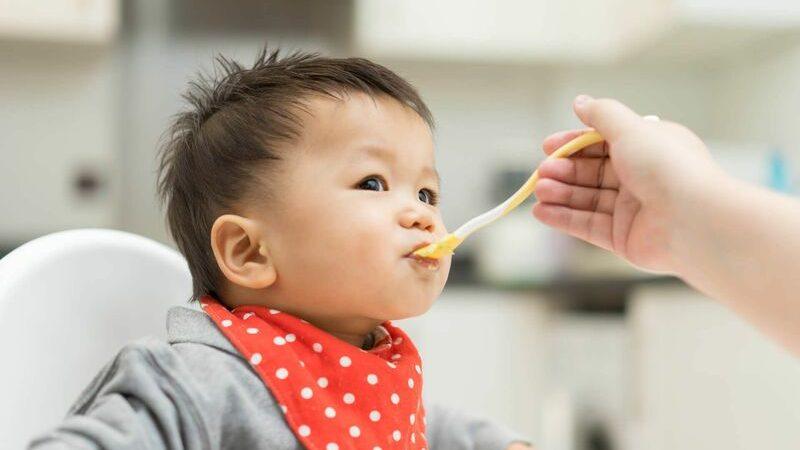 sốt do trẻ mọc răng